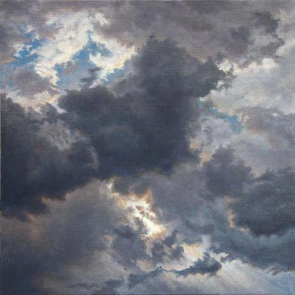 "Will Kefauver, Painting, ""Cloud Study IV"""