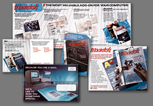 A+ Magazine, Macintosh Promotion