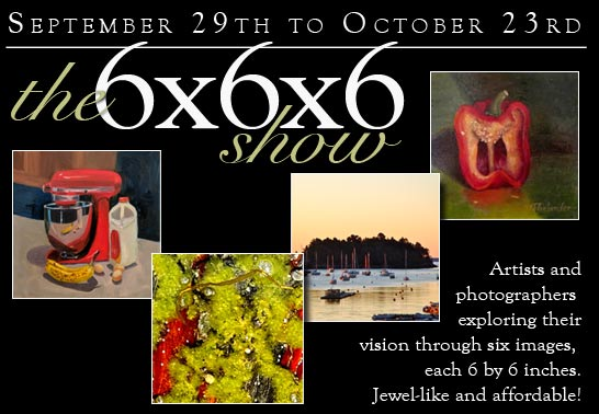 Kefauver Studio & Gallery web spot for our 6x6x6 #2 show