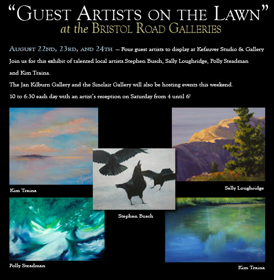 Guest Artists on the Lawn event